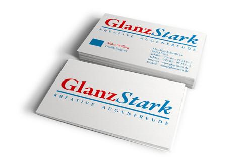 GlanzStark-Visitenkarte